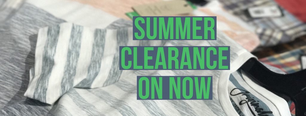 Summer Clearance Sale ON NOW