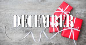 December Hours 2018 – OPEN SUNDAYS UNTIL CHRISTMAS