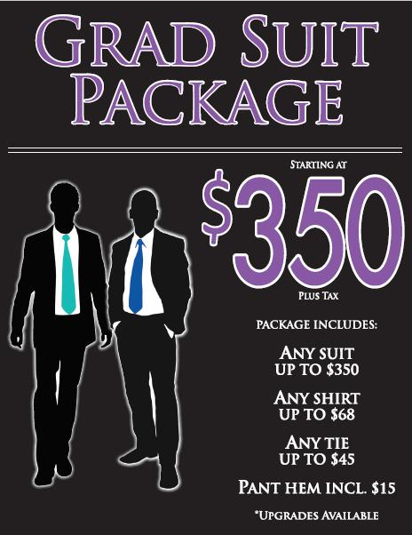 Grad Suit Package 2019