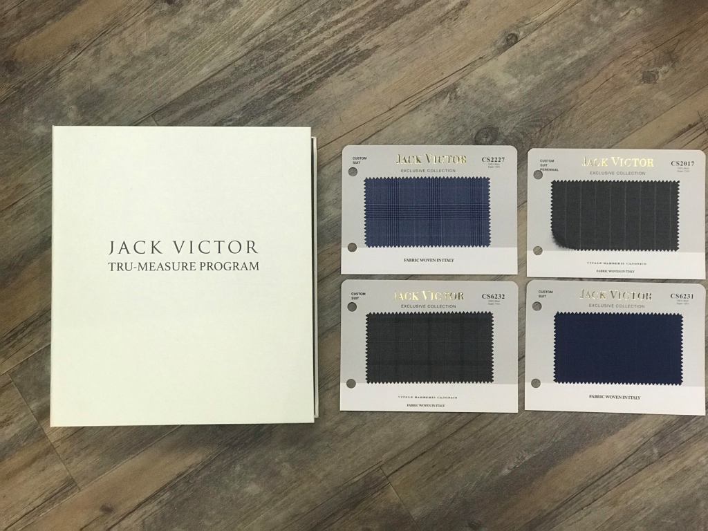 Custom Suits from Jack Victor