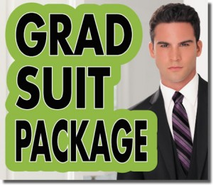 Grad Suit Package